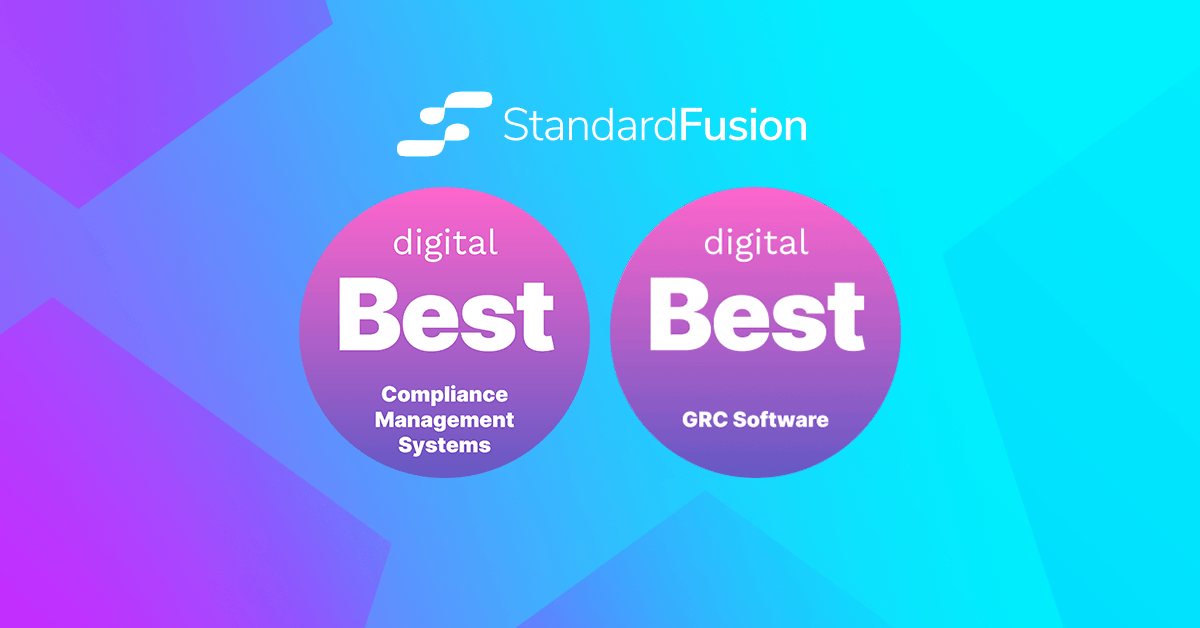 StandardFusion Named Best Compliance & GRC Software of 2021 in Independent Research