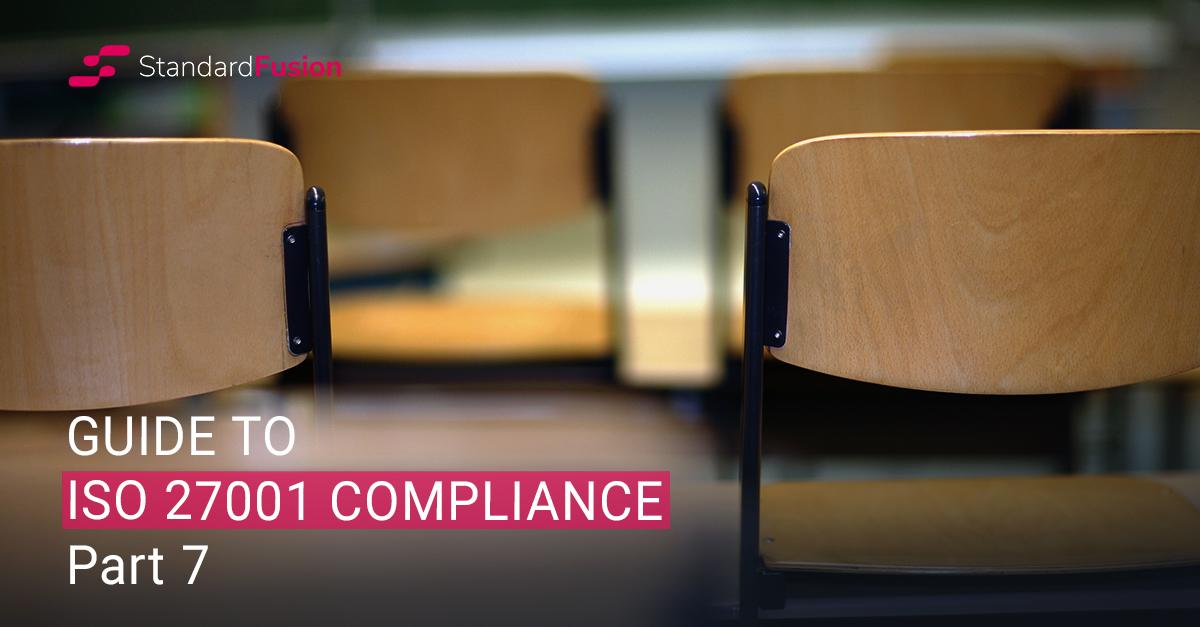 ISO 27001 – Security Training & Awareness