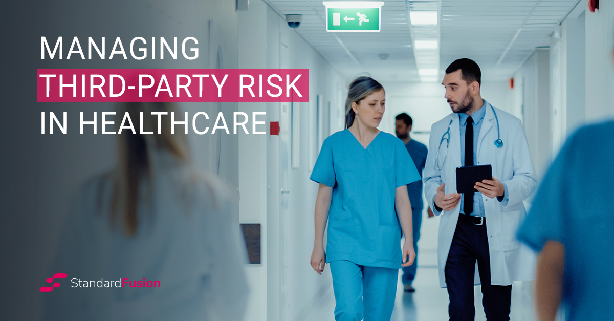 managing third party risk in healthcare_blog header